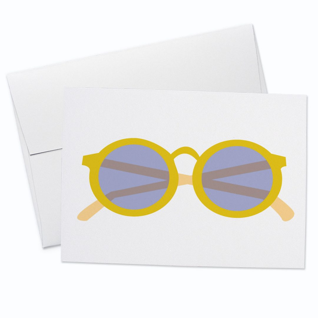 Glasses Card