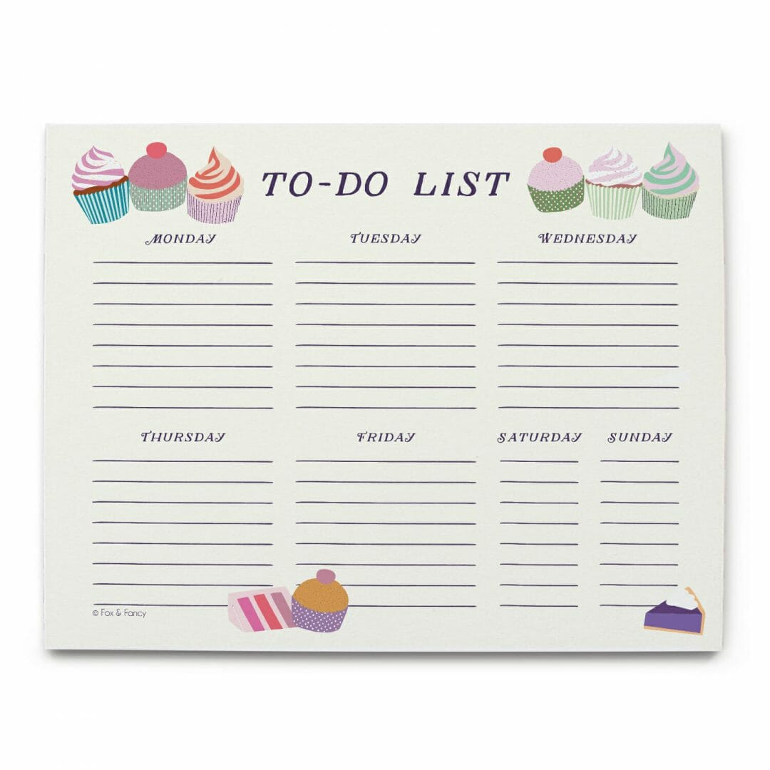 To-Do List Desk Notepad