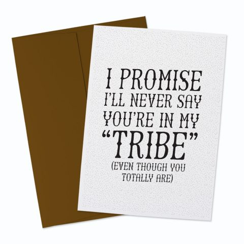 My Tribe Greeting Card